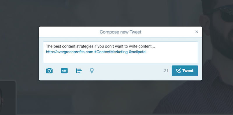 Twitter - Content Curation