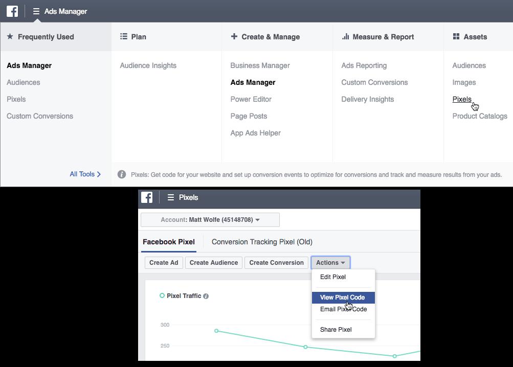 Facebook Pixel - Content Curation